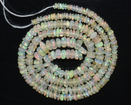 30.00  Ct Natural Ethiopian Welo Opal Beads Play Of Color OB64