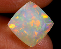 3.32cts Natural Ethiopian Faceted Welo Opal /BF4412