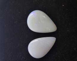 12.35 cts opala solida forma gota