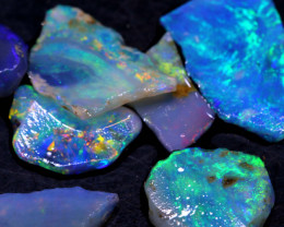 10CTS L.RIDGE OPAL INLAY ROUGH PARCEL DT-A3823