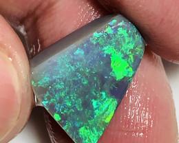 Top Notch Black- Super Gem Bright Clean Jewellery Grade Precious Opal Rub#1