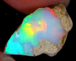 6cts Natural Ethiopian Welo Rough Opal / WR4969