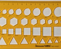 20cm GeometricOpalTemplate [30011]