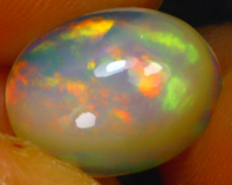 Welo Opal 1.85Ct Natural Ethiopian Play of Color Opal J1017/A28