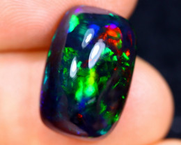 5.32cts Natural Ethiopian Welo Smoked Opal / HM1270