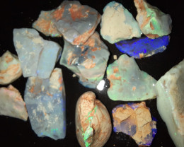 119 Cts Mixed Grawin Opal Rough