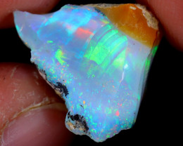 10cts Natural Ethiopian Welo Rough Opal / WR5062
