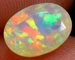 1.57cts Natural Ethiopian Faceted Welo Opal / NY388