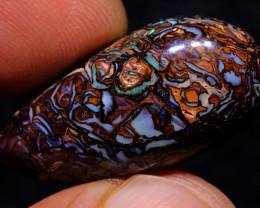 Koroit Boulder Opal Pattern Stone 29cts  DO-697 - downunderopals