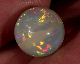 9.90CT~STUNNING ETHIOPIAN WELO OPAL SPHERE~INSANE FULL SATURATION OF FIRE!