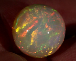 18.42CT~STUNNING ETHIOPIAN WELO OPAL SPHERE~INSANE FULL SATURATION OF FIRE!