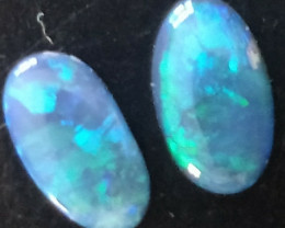 1.20cts Black Opal Pair AN-899