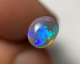 .73ct electric blue/green crystal opal