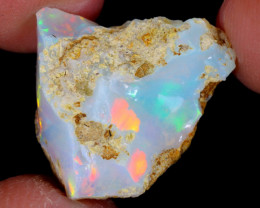 8cts Natural Ethiopian Welo Rough Opal / WR5133