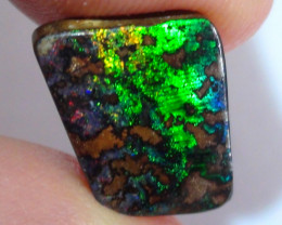 4.50 ct $1 NR Gem Electric Multi Color Boulder Opal