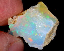 4cts Natural Ethiopian Welo Rough Opal / WR5165