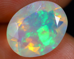 2.36cts Natural Ethiopian Faceted Welo Opal / NY446