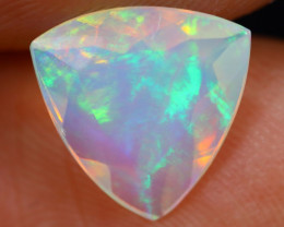 1.31cts Natural Ethiopian Faceted Welo Opal / NY454