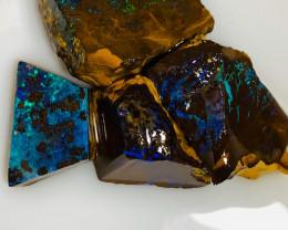 Select Parcel of Rough/Rub Jewelry Grade Boulder Matrix  Opals