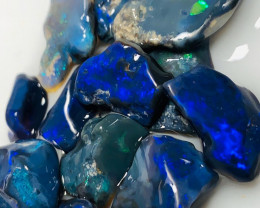 High Grade Black Opals - Select Black Rough for Opal Cutters