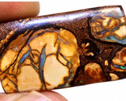41.20 cts Australian Yowah Opal Pattern Stone  DO-816