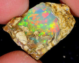 5cts Natural Ethiopian Welo Rough Opal / NY514