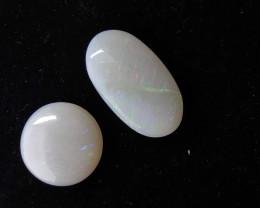 11.60 cts Pedra Lapidada Forma Oval e Redonda