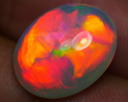 5.385 CRT WONDERFULL NEON FIRE 5/5 BRIGHT PLAY COLOR WELO OPAL