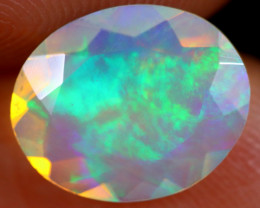 1.59cts Natural Ethiopian Faceted Welo Opal /BF4543