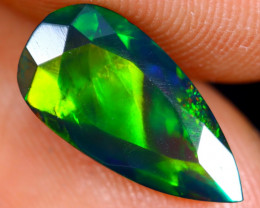 1.53cts Natural Ethiopian Faceted Welo Smoked Opal /BF4548