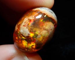 19.37ct Mexican Matrix Cantera Multicoloured Fire Opal