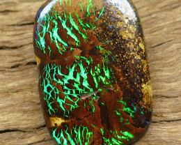 5cts. ***2 SIDED GEM FLASH QUEENSLAND OPAL***