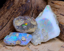 Welo Rough 40.25Ct Natural Ethiopian Play Of Color Rough Opal D1603