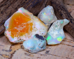 Welo Rough 42.53Ct Natural Ethiopian Play Of Color Rough Opal D1607