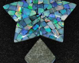 14.50 cts Pedra Mosaico  Forma Oval