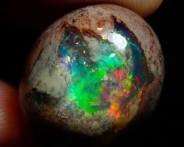 31.40Mexican Matrix Cantera Multicoloured Fire Opal Specimen