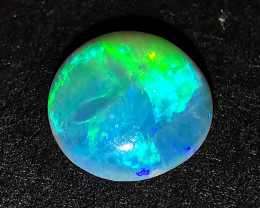 Solid Crystal Opal - Lightning Ridge Australia - 0.75 cts