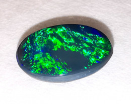 Lightning Ridge Australia - Solid Black Opal - 0.78 cts