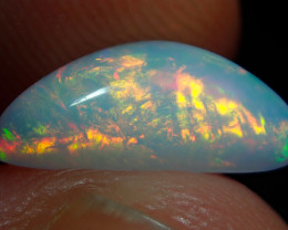 1.55ct Bright Natural Ethiopian Welo Multicoloured Fire Opal