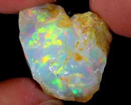 15cts Natural Ethiopian Welo Rough Opal / WR5279
