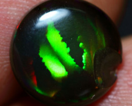 2.10cts Bamboo Leaf Pattern Smoked Ethiopian Welo Opal