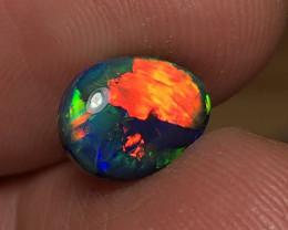 3.08ct Lightning Ridge Black Opal LRS942