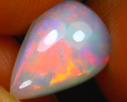 Welo Opal 1.38Ct Natural Ethiopian Play of Color Opal H2119/A3