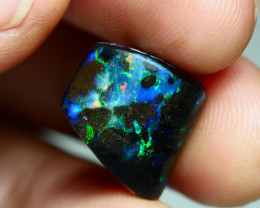 8.595CRT BEAUTY BLUE FOSSIL WOOD INDONESIA OPAL