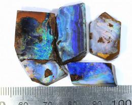 77ct 5pcs Natural Boulder Opal Rough Parcel [BRP-135]