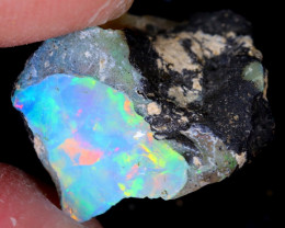 5cts Natural Ethiopian Welo Rough Opal / WR5337