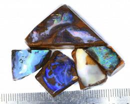 90ct 5pcs Natural Boulder Opal Rough Parcel [BRP-140]