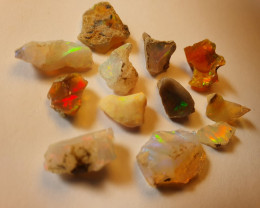 23.91ct lot Cutting Rough Noobie Welo Opal