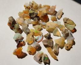 41.7ct lot Cutting Rough Noobie Welo Opal
