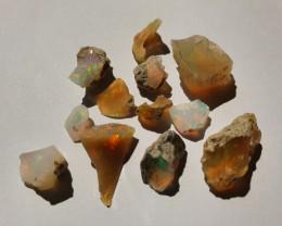 23.47ct lot Cutting Rough Noobie Welo Opal